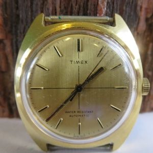 Vintage Timex Fineline Automatic Mens WAtch